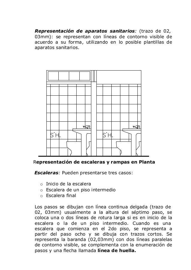 Dibujo arquitectonico for Representacion grafica de planos arquitectonicos