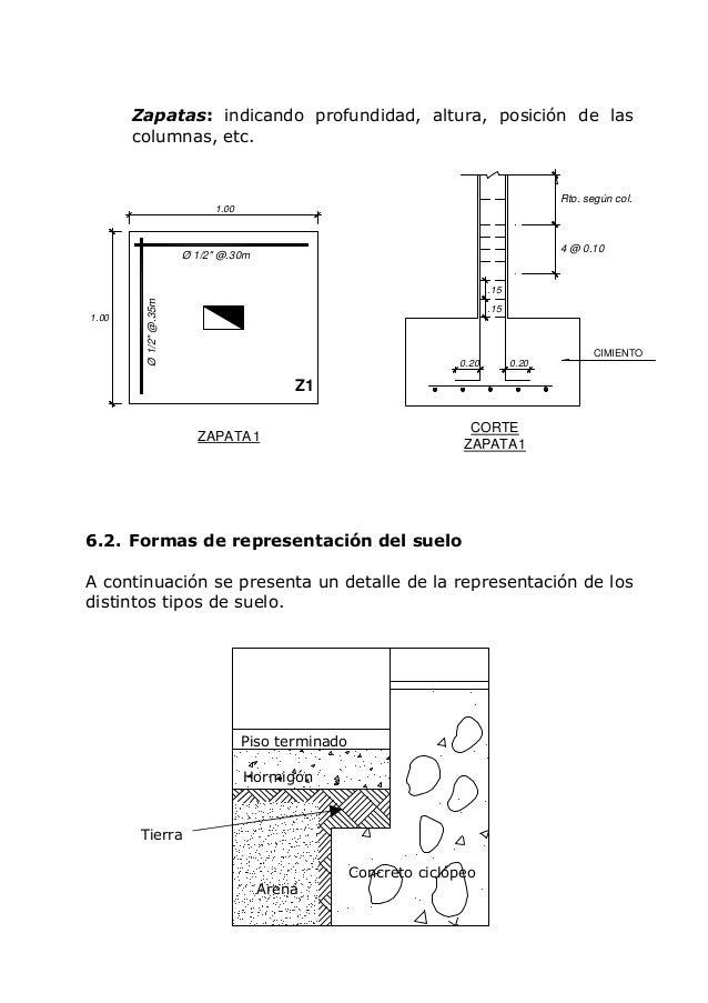 Dibujo arquitectonico for Representacion de planos arquitectonicos