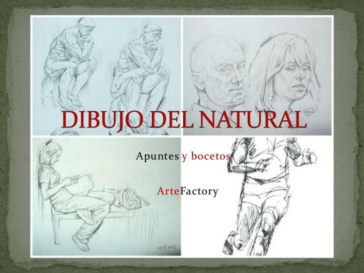 Apuntes y bocetos   ArteFactory