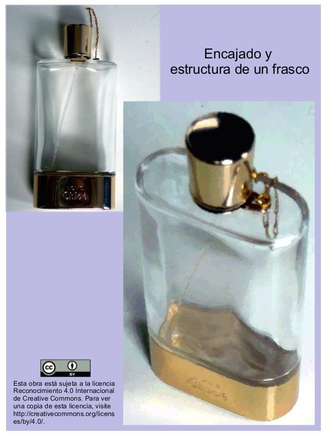 Encajado y estructura de un frasco Esta obra está sujeta a la licencia Reconocimiento 4.0 Internacional de Creative Common...