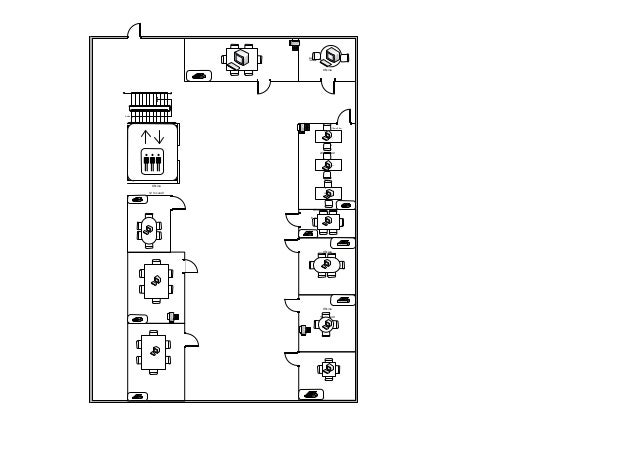 Dibujo Planta Principal Muebles 2