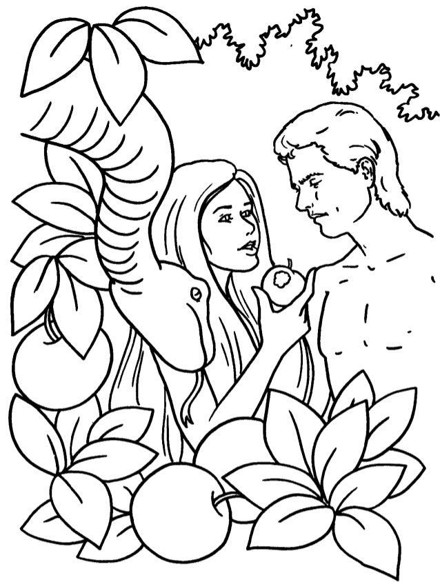 Dibujos De La Biblia Para Colorear