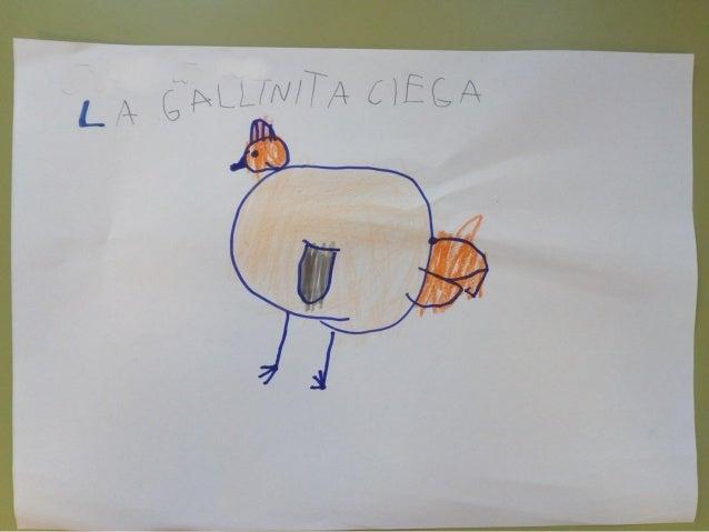 Dibujos de la gallinita ciega