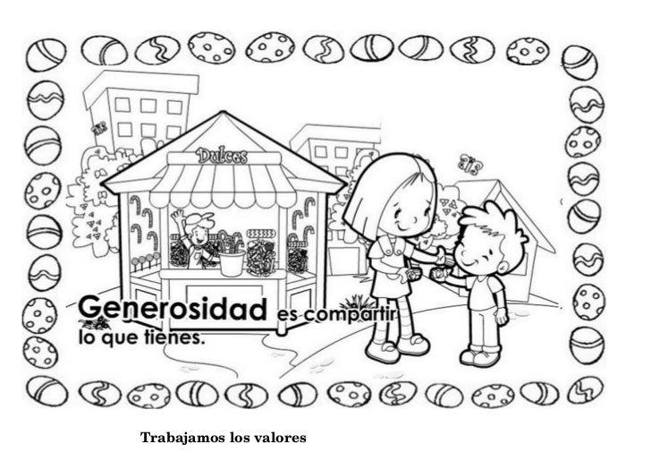 Dibujos Clase De Religion: Imagenes De Valor Es Dibujos De Valores Para Clase De Religion