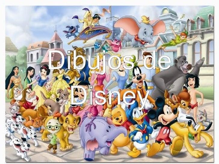 Dibujos de Disney