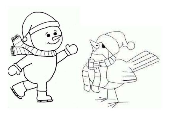 Dibujos invierno