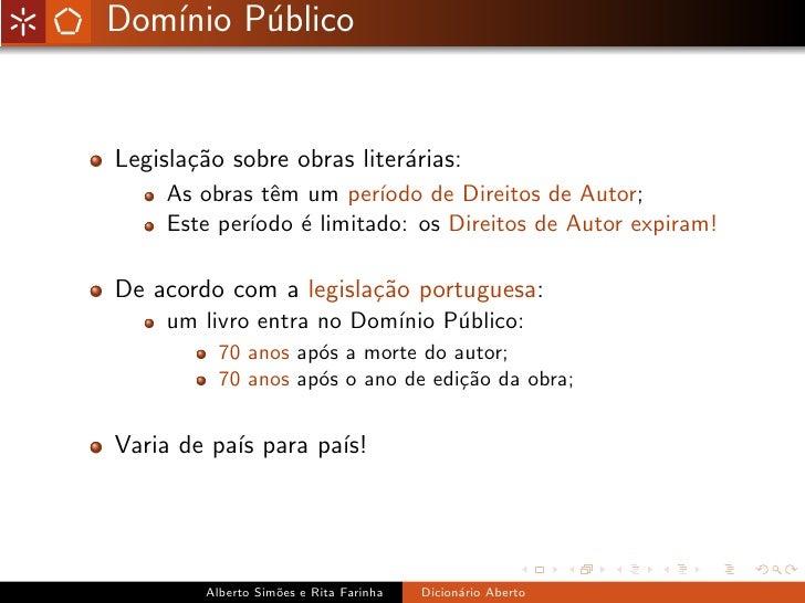 Dicionário Aberto Slide 3