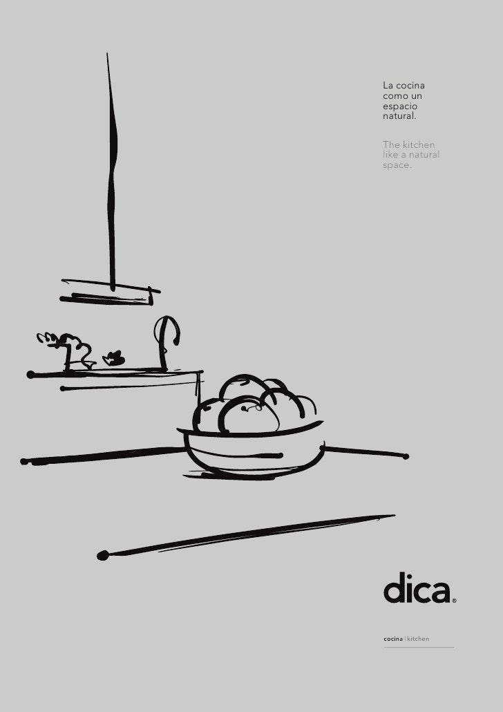 La cocinacomo unespacionatural.The kitchenlike a naturalspace.cocina kitchen