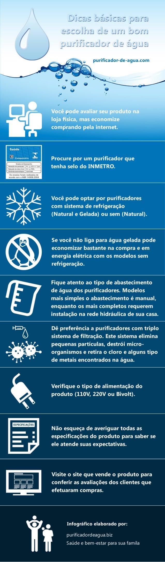 Dicas básicas para escolha de um bom purificador de água purificador-de-agua.com Dicas básicas para escolha de um bom puri...
