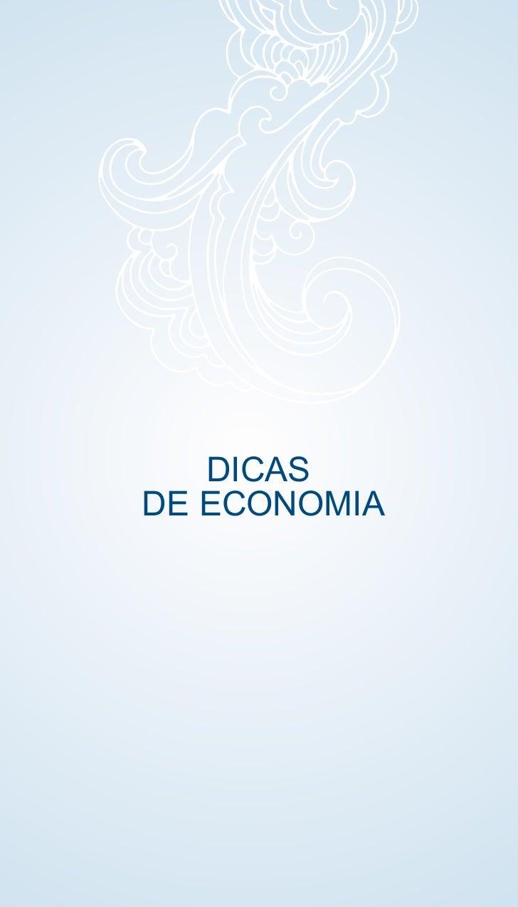 DICASDE ECONOMIA