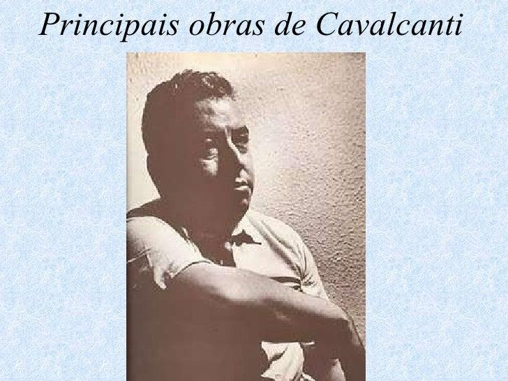 Principais obras de Cavalcanti