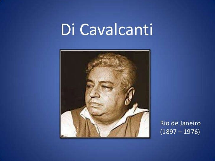 Di Cavalcanti<br />Rio de Janeiro<br />(1897 – 1976)<br />