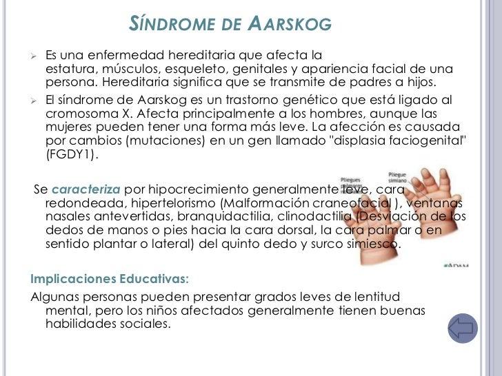 Sindromes cromosomicos