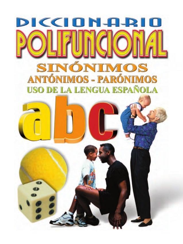 Diccionario de-sinonimos-antonimos-y-paronimos - photo#14