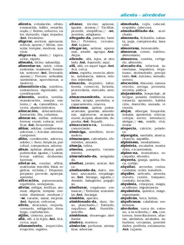 Diccionario de sinonimos antonimos y paronimos - Sinonimos de encantar ...