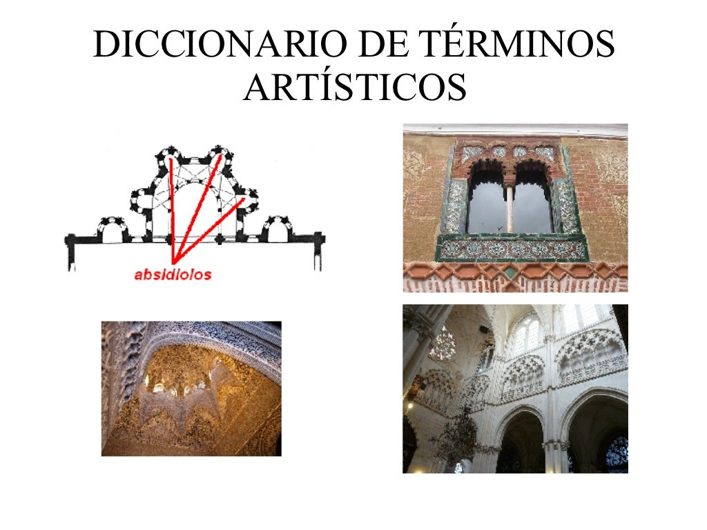 Diccionario De TéRminos ArtíSticos