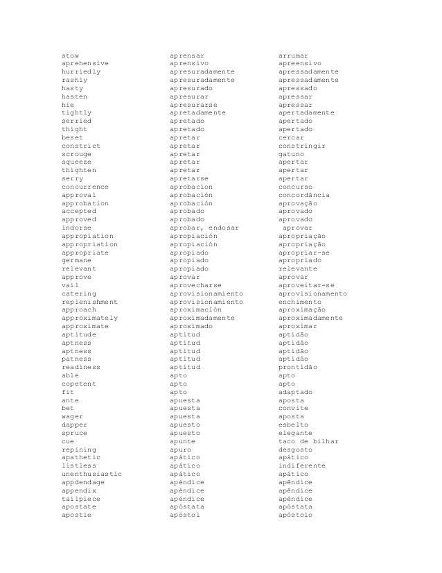 Diccionario ingles espanol portugues 31 stow malvernweather Gallery