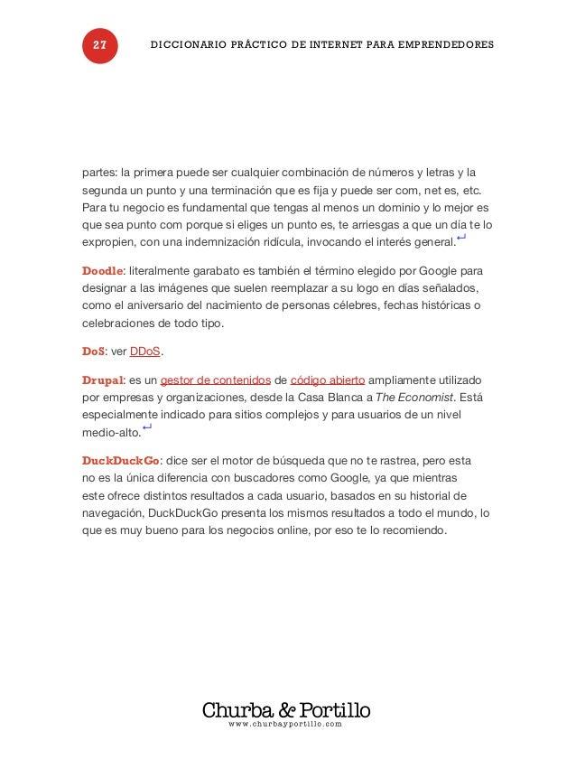 Diccionario Práctico Internet para Emprendedores