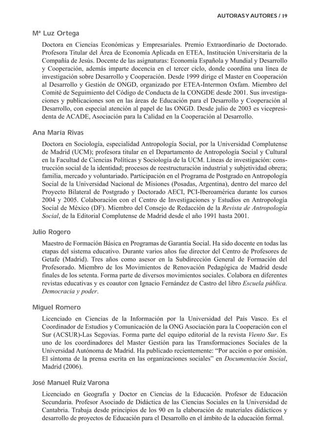 Mª Luz Ortega Doctora en Ciencias Económicas y Empresariales. Premio Extraordinario de Doctorado. Profesora Titular del Ár...