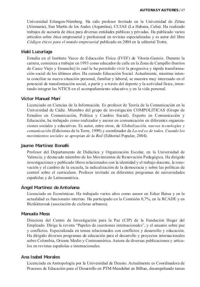 Universidad Erlangen-Nürnberg. Ha sido profesor Invitado en la Universidad de Zittau (Alemania), San Martín de los Andes (...