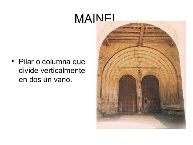 Diccionario arquitectura - Vano arquitectura ...