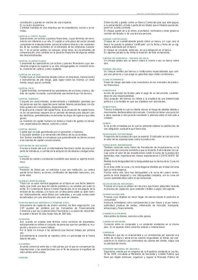 DICCIONARIO INGLES - ESPA OL DE TERMINOS CONTABLES