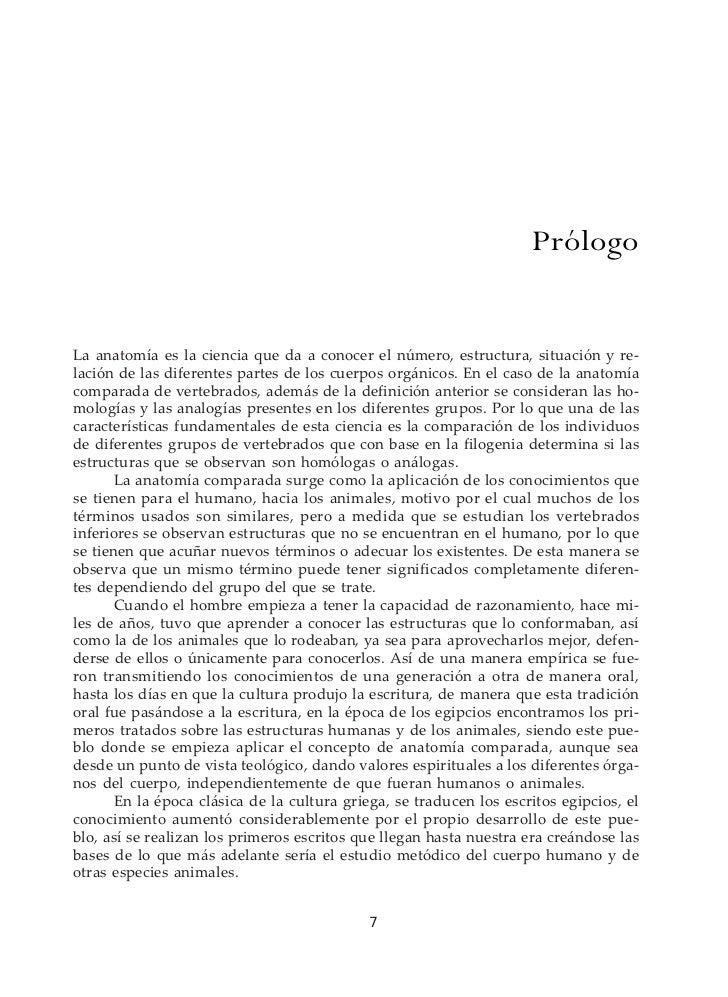 Diccionario De Anatomia De Vertebrados