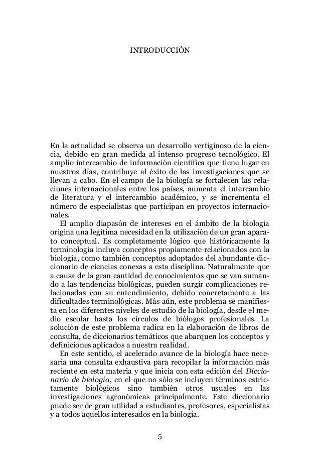 Diccionario De Biologia