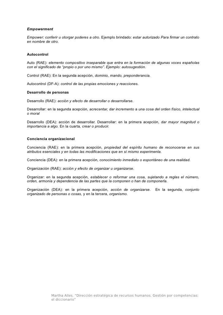 Diccionario De Competencias Laborales