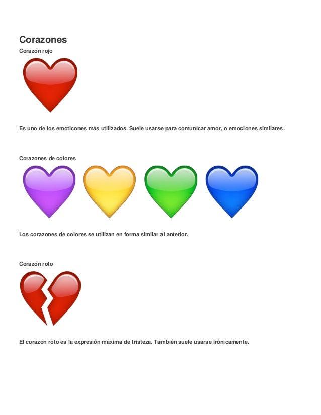 Diccionario De Emoticones