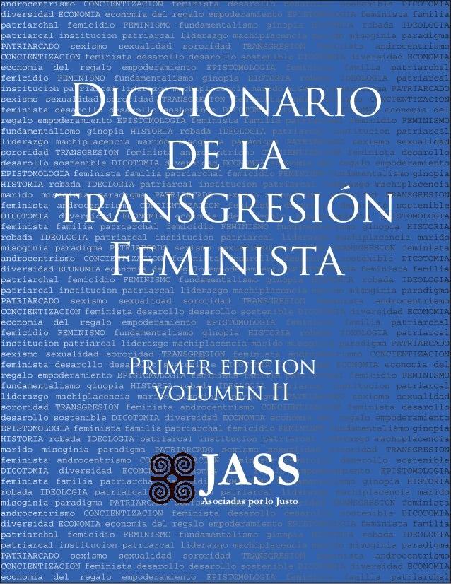 androcentrismo CONCIENTIZACION feminista desarollo desarollo sostenible DICOTOMIA diversidad ECONOMIA economia del regalo ...