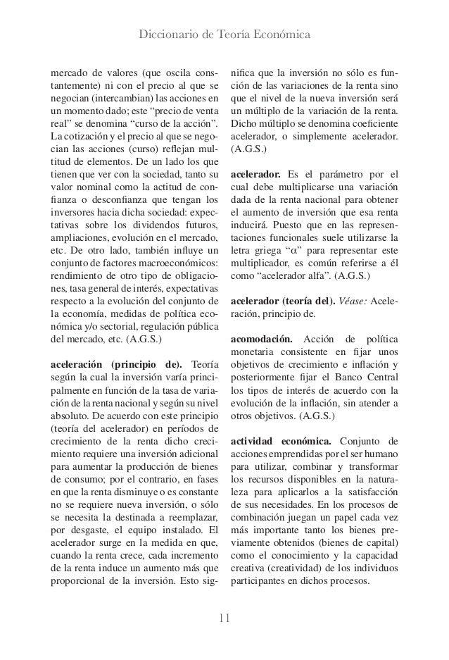 Diccionario de teoría económica luis palma martos