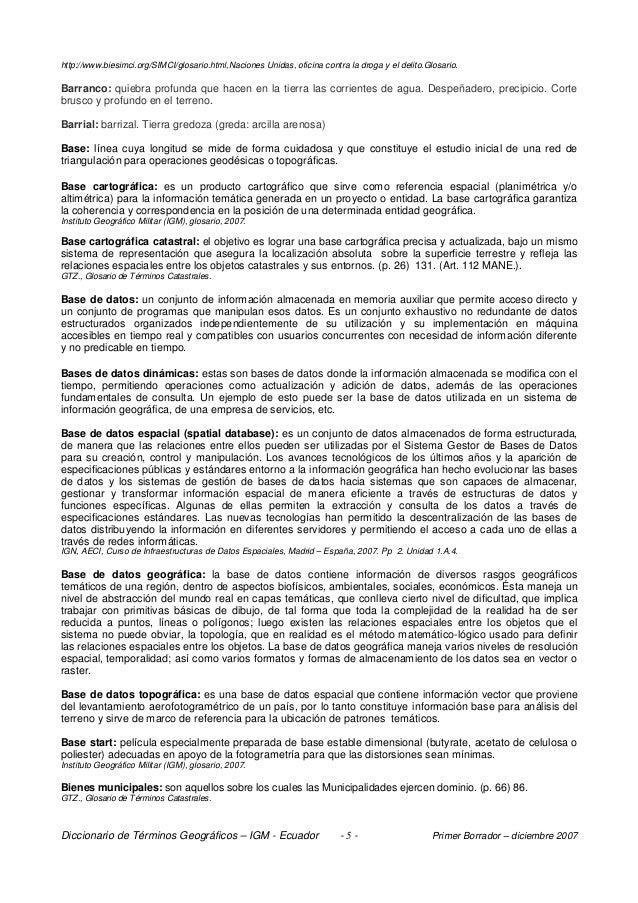 Diccionario de terminos geograficos online dating