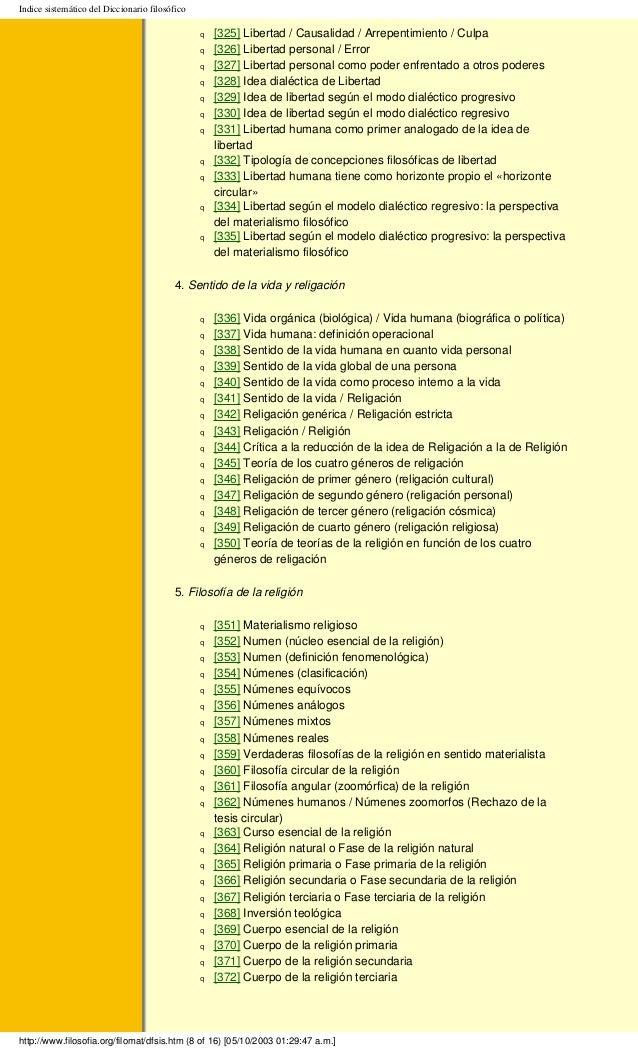 Diccionario Filosófico. Digital.