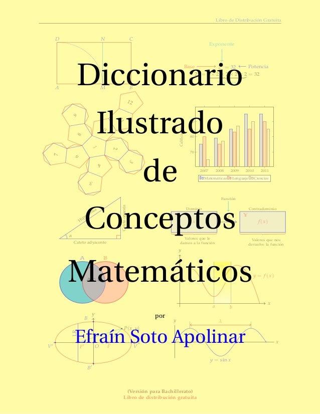 Libro de Distribuci´on GratuitaA BCDMN25 = 32BaseExponentePotencia25 = 2 × 2 × 2 × 2 × 25 factores= 321234567891011122007 ...
