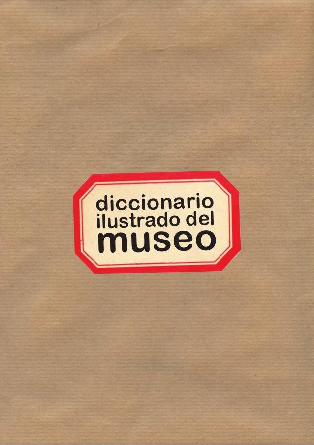 diccionario ilustrado del museo