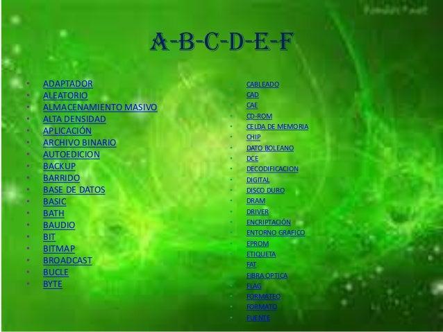 Diccionario informático Slide 2