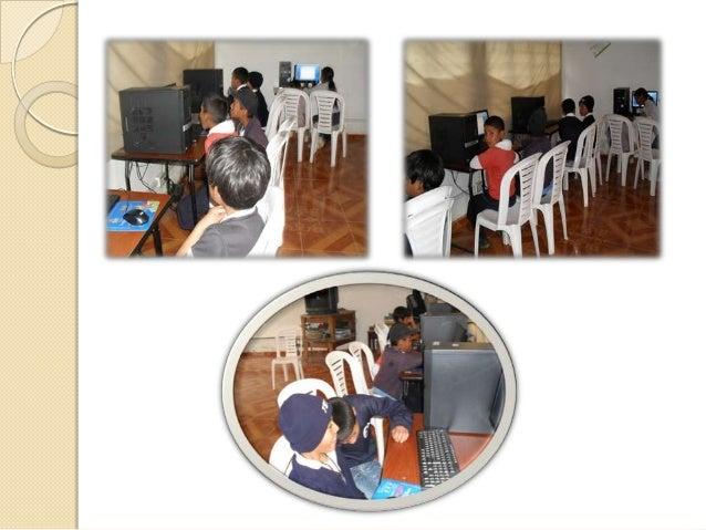 ConclusiónEl proceso de implementación de un proyecto de aula en   TIC, es una ayuda pedagógica que trae consigo muchos   ...