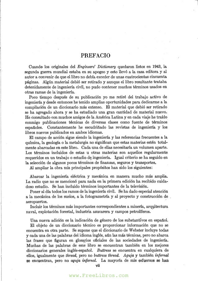 Diccionario para ingenieros Español-Ingles