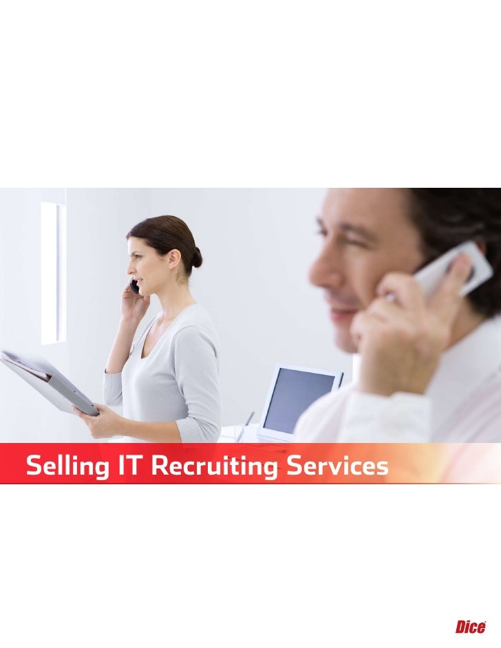 Selling IT Recruiting Services