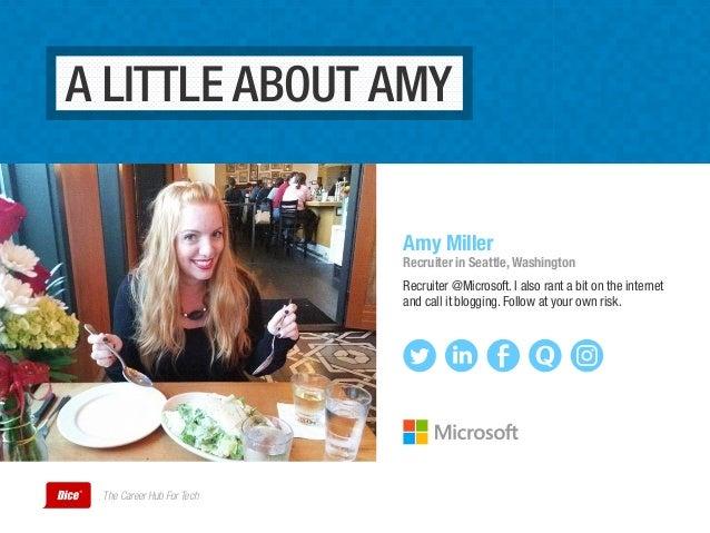 Recruiting the Microsoft Way Slide 2