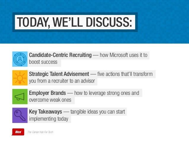 Recruiting the Microsoft Way Slide 3