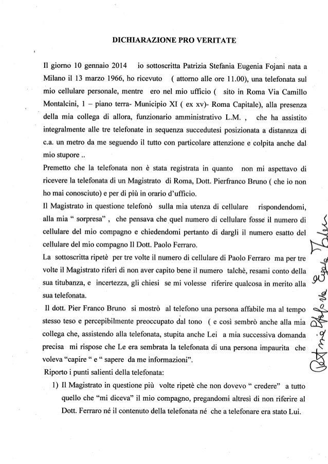 Dichiarazione pv foiani 11 11 2014