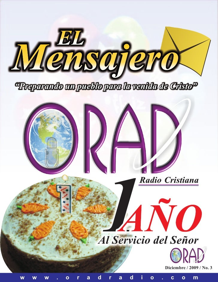 """EL Mensajero """"Preparando un pueblo para la venida de Cristo""""                                  1                           ..."""