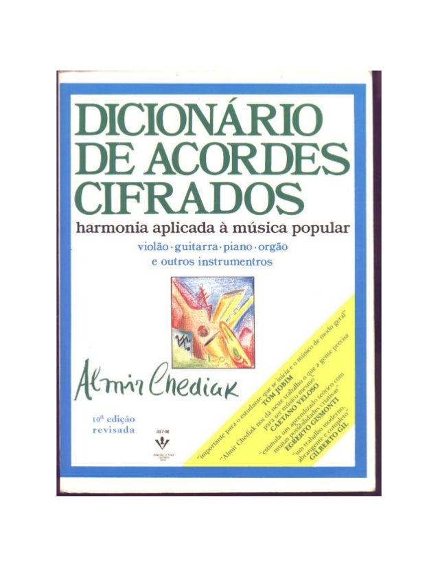 Dicionário de acordes cifrados