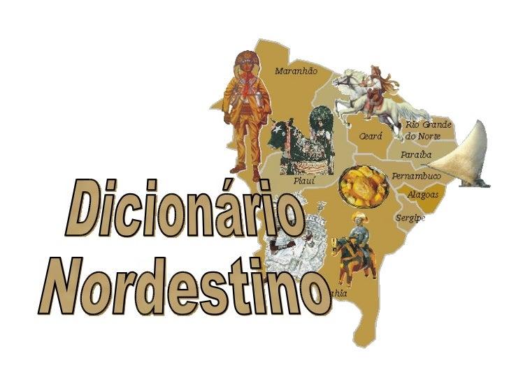 Dicionário Nordestino
