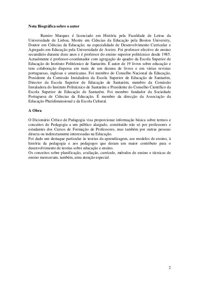 Dicionário pedagogia Slide 2