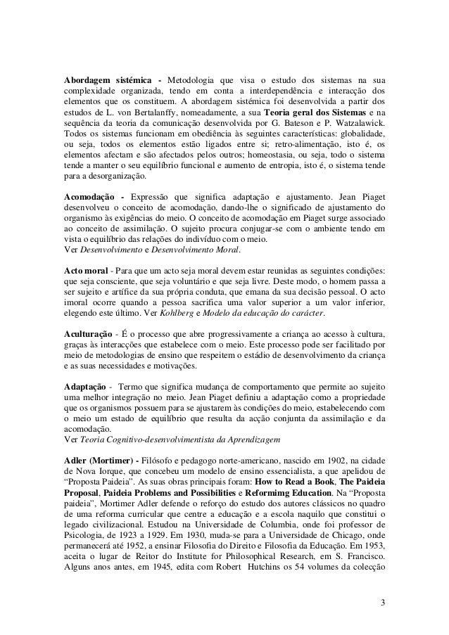 Dicionário pedagogia Slide 3