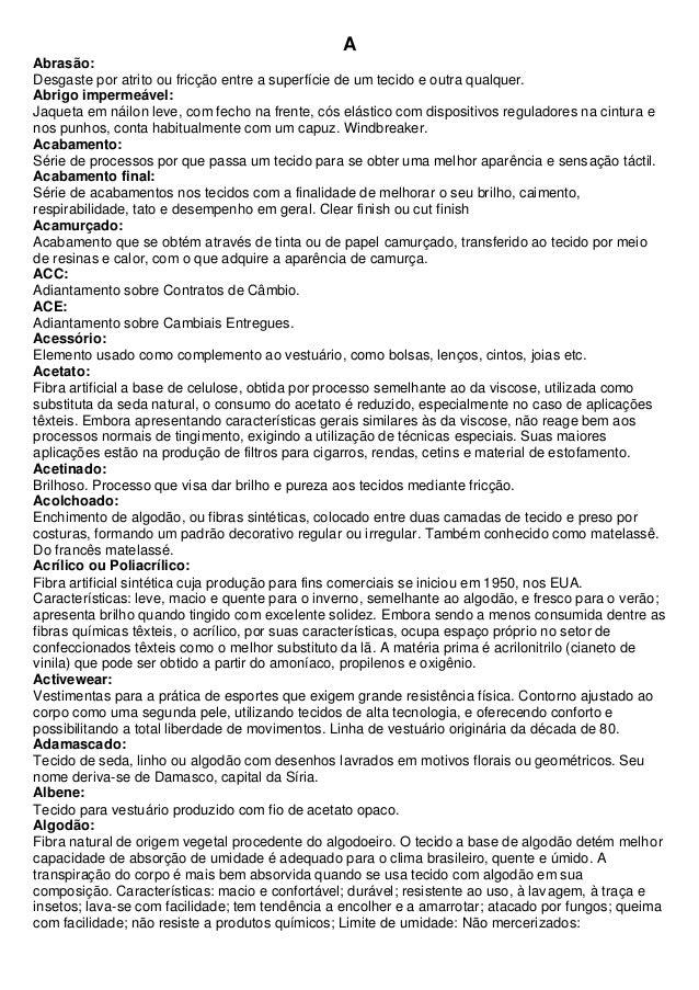 62e82b7ea Dicionário textil