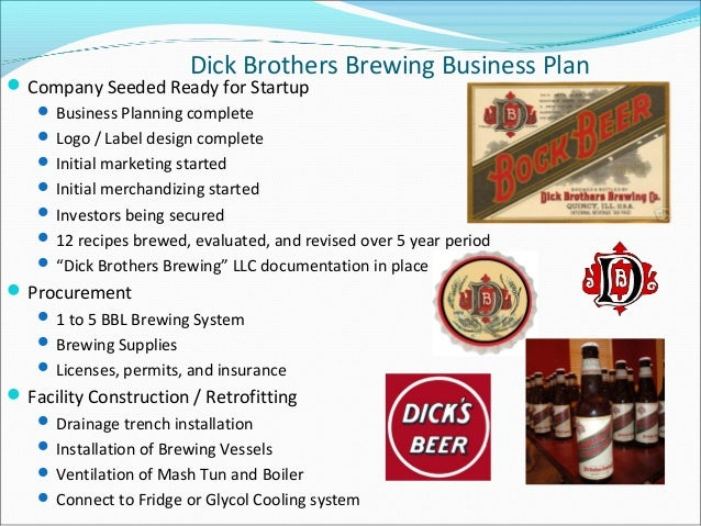 Dick brothers brewing business plan – Home Brew Supply Business Plan